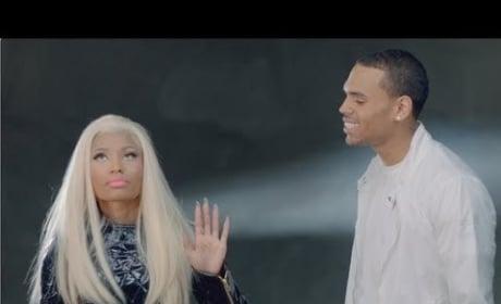 Nicki Minaj - Right By My Side Music Video (ft. Chris Brown)