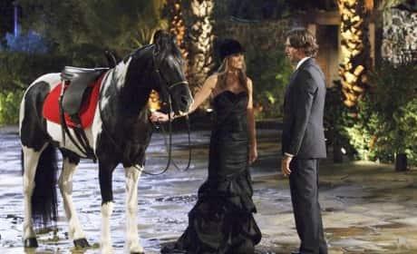 Ben, Lindzi, Horse