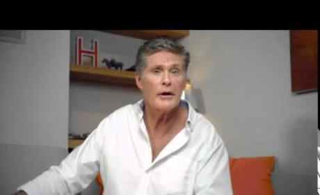 David Hasselhoff Confirms Name Change (For Real!)