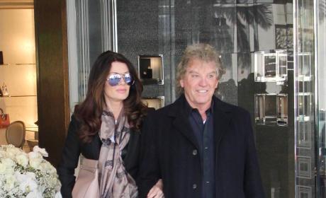 Lisa Vanderpump and Ken Todd Shop in Beverly Hills