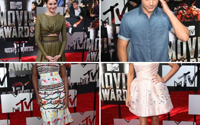 Shailene woodley at mtv movie awards