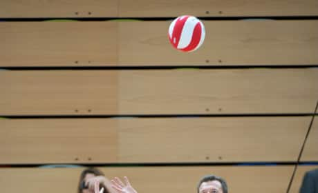 Kate Middleton Plays Volleyball, Shows off Flat Tummy