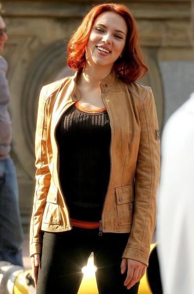Scarlett Johansson Red Head