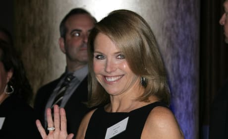 Katie Couric Pose