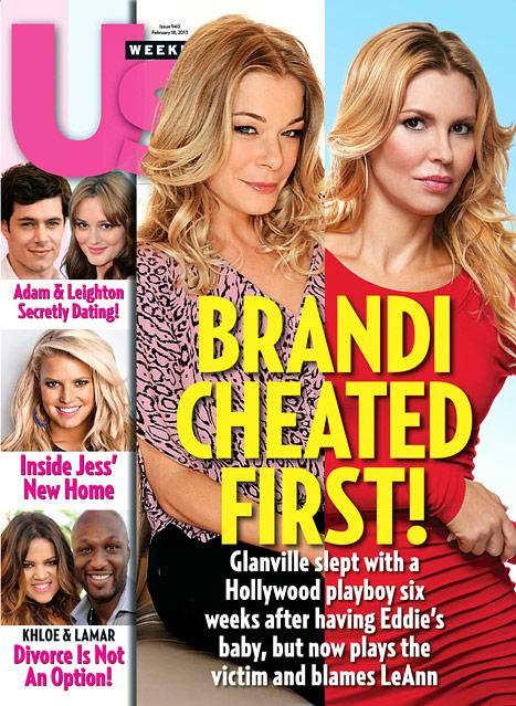 Brandi Glanville Cheated