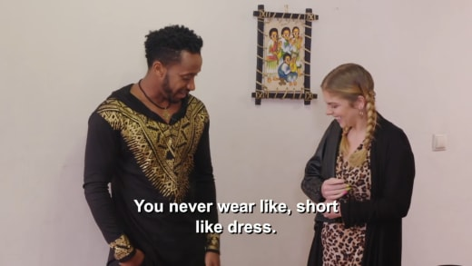 Biniyam Shibre - vous ne portez jamais, comme, une robe courte