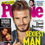 David Beckham People Cover