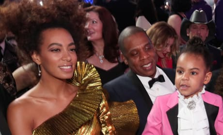 Solange, Jay Z and Blue Ivy