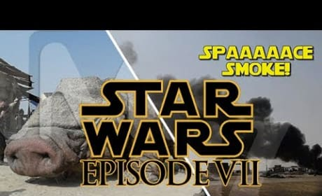 Star Wars Episode VII Photos