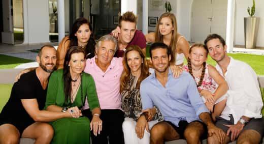 The Matthews Family at Eden Rock Hotel