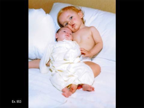 Paris and Prince Baby Photos