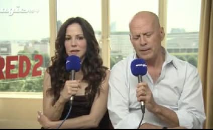 Bruce Willis Promotes Red 2, Acts Like Total Dick