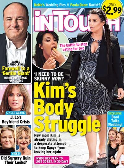 Kim Kardashian Weight Story