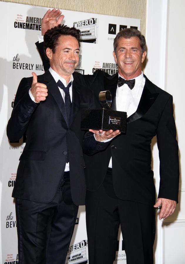 Robert Downey Jr. and Mel Gibson