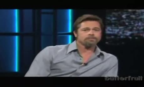 Brad Pitt Talks Weed With Bill Maher