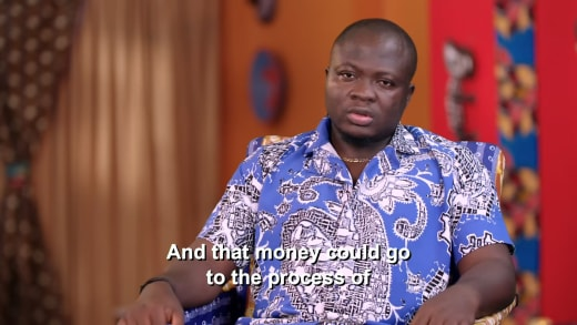 Michael Ilesanmi - that money could go to the process of (having a child)