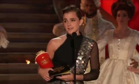 Emma Watson Wins First-Ever Gender-Neutral Award, Gives Empowering Speech