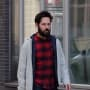 Paul Rudd Runs Errands in Soho