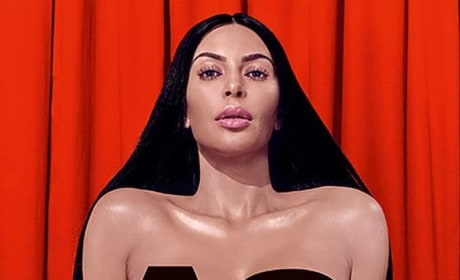 Kim Kardashian Goes Nude, Gets Candid About Sex
