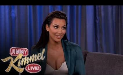 Kim Kardashian Changes Diapers, Calls Out Drunk Khloe on Jimmy Kimmel Live