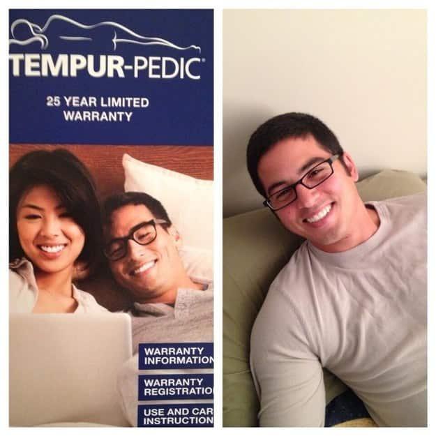 Tempurpedic Guy