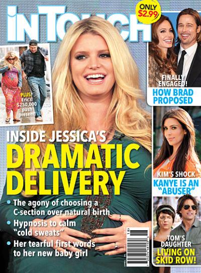 Jessica Simpson Birth