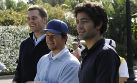 Tom Brady, Mark Wahlberg, Adran Grenier