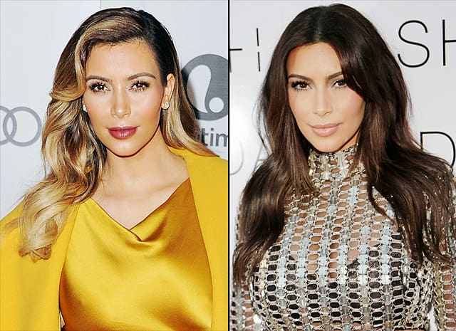 17 Celebrity Hair Color Changes - The Hollywood Gossip