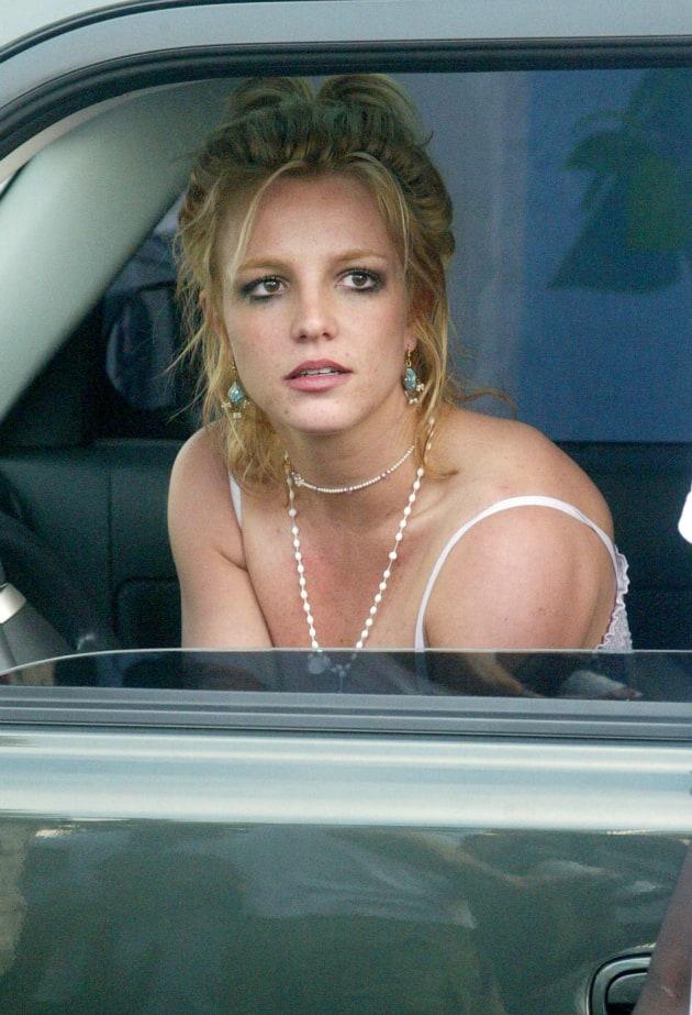 Britney spears car nudity
