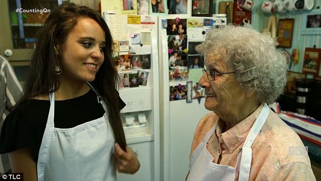 Jinger Duggar With Jeremy Vuolo's Grandmother
