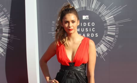 Nina Dobrev at the 2014 VMAs