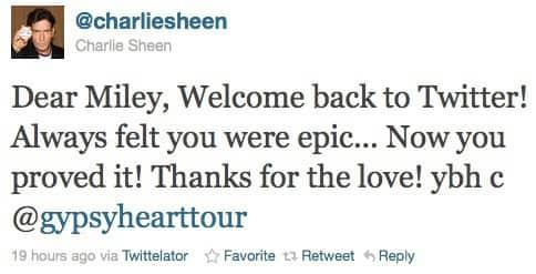 Sheen Tweetin