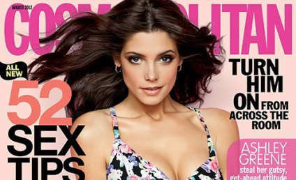 Ashley Greene, Major Cleavage Cover Cosmo