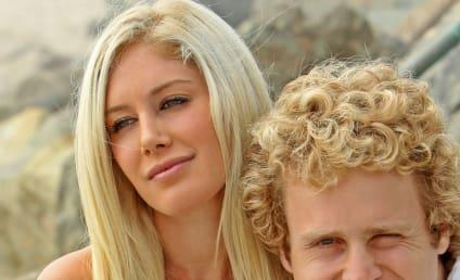 Soap Opera Stars Caress Poster of Heidi Montag