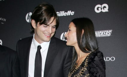 Ashton Kutcher and Demi Moore: Having a Gentlemen's Ball!