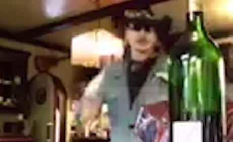 Johnny Depp Goes OFF on Amber Heard, Breaks Wine Bottle & Glass in Shocking Video