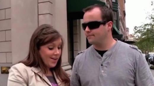 Anna and Josh Duggar in Happier Times