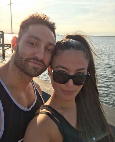 Sammi and boyfriend, Christian Biscardi, post a selfie