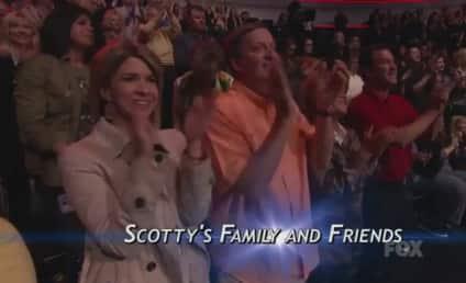 Scotty McCreery Crosses His Heart on Idol