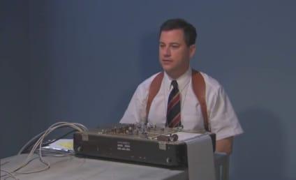 "Jimmy Kimmel Plays ""Lie Detective,"" Torments Kid"
