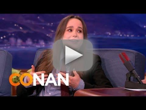 Ellen Page Dreams About Justin Bieber, Pubic Hair - The