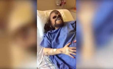 Woman Gives Birth in Chewbacca Mask, Apocalypse Inches Ever Closer