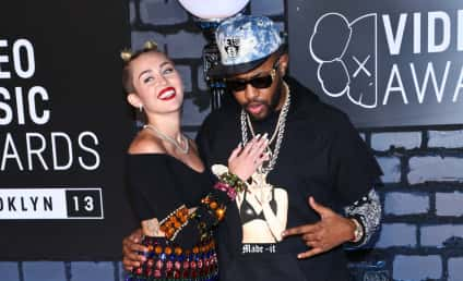 Miley Cyrus: Straddling Some Dude, Making Out with Mike WiLL Made It