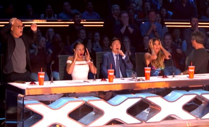 AGT Stunt Goes Horribly Wrong, Woman Nearly Plummets to Death