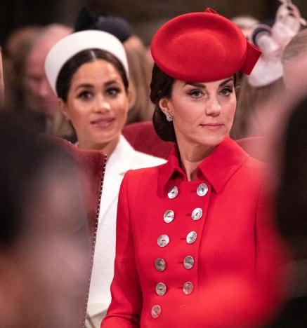 Kate Middleton congela a Meghan