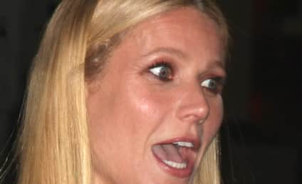 Gwyneth Paltrow Ditches Food Stamp Challenge AGAIN For Swanky Dinner Date!