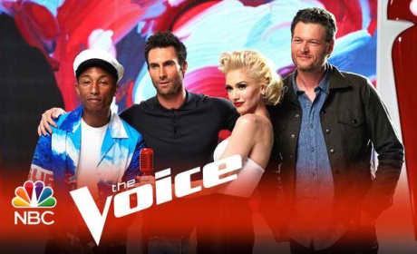 Voice Season 9 Coaches