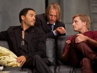 Cinna, Haymitch and Peeta