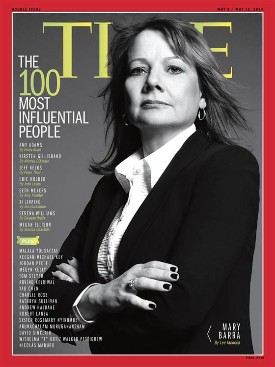Mary Barra Time Cover