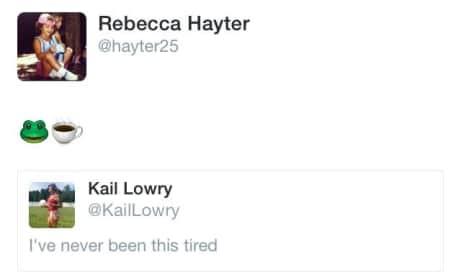 Kailyn Lowry-Becky Hayter Tweet